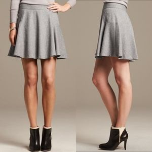 Banana Republic Flannel Fit and Flare Skirt NWOT